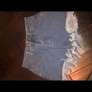 BRAND NEW Zaful Jean Shorts